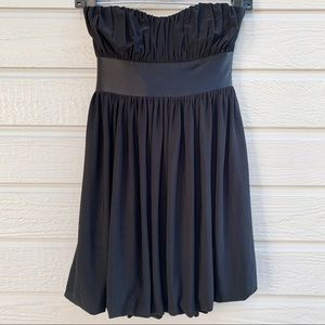 Bebe | Strapless Empire Bubble Cocktail Dress - XS